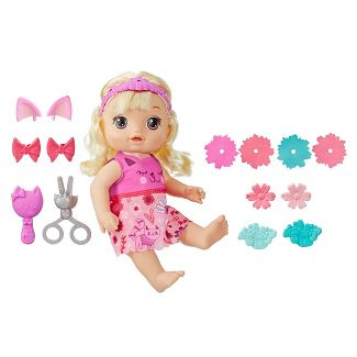 Baby Alive Snip 'n Style Baby - Pink Dress