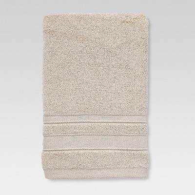 Performance Solid Hand Towel Beige - Threshold™