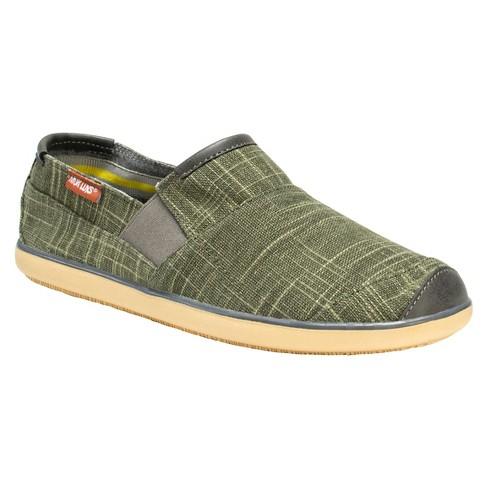 Men's MUK LUKS® Jose Sneakers - Green 10 - image 1 of 6