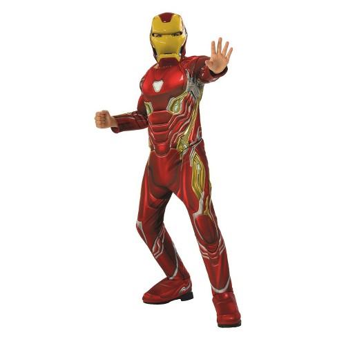 189a0a49d Boys  Marvel Avengers Infinity War Iron Man Halloween Costume   Target