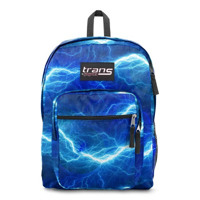 """Trans by JanSport 17"""" SuperMax Backpack - Its Electric"""