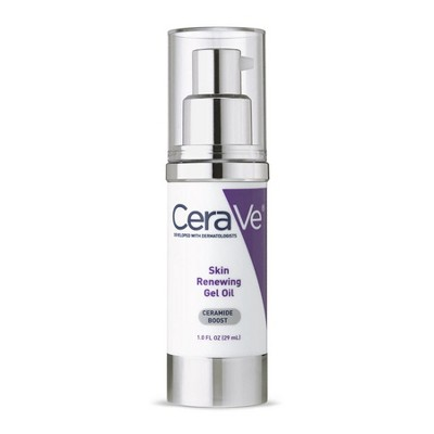 Facial Moisturizer: CeraVe Skin Renewing Gel Oil