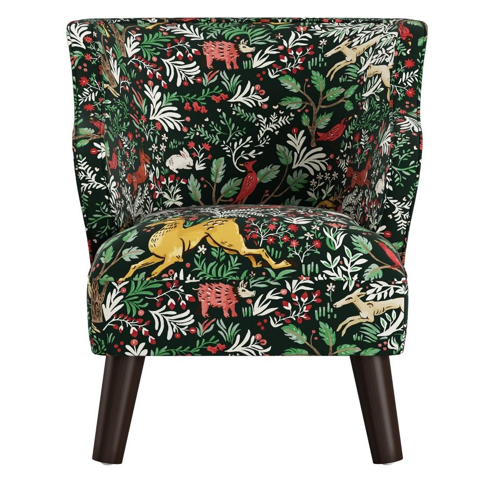Kids Modern Chair Frolic Evergreen - Skyline Furniture
