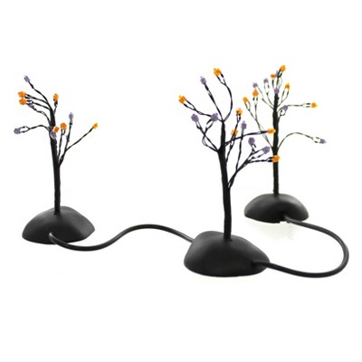 Dept 56 Accessories Twinkle Brite Halloween Shrubs Village Accessory  -  Decorative Figurines
