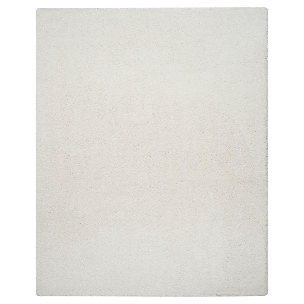 Reno Shag Rug - White - (8'X10') - Safavieh