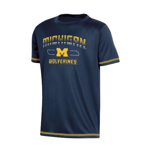 NCAA Boys  Poly T-Shirt Michigan Wolverines - XS   Target 596cee4bd