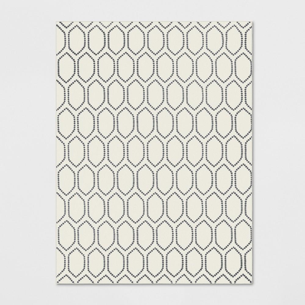 9'X12' Geometric Tufted Area Rugs Ivory - Threshold