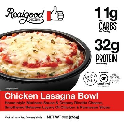 Real Good Gluten Free Frozen Lasagna Bowl - 9oz