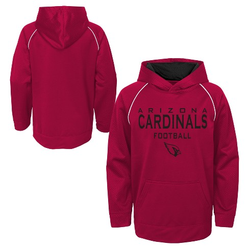 eddbce2c Arizona Cardinals Boys' In the Game Poly Embossed Hoodie XS