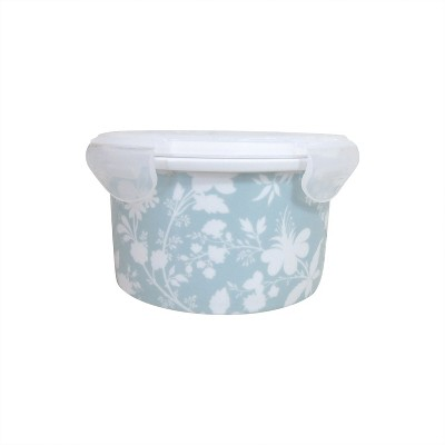 Food Container with plastic lid Light Blue - Threshold™