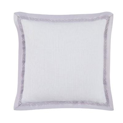 "Charisma 16"" Medici Pillow White/Lavender"