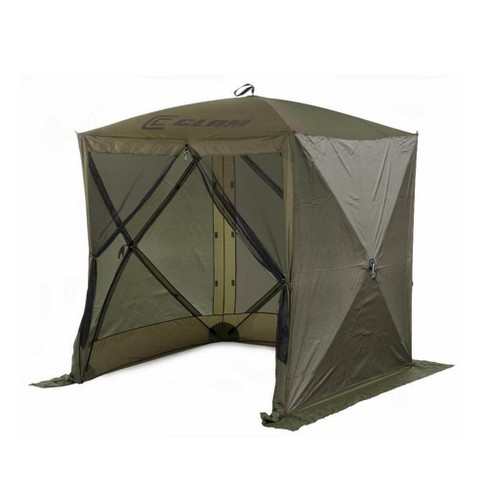 Clam Quick Set Traveler Portable Camping Outdoor Canopy Shelter + 3 Wind Panels - image 1 of 4