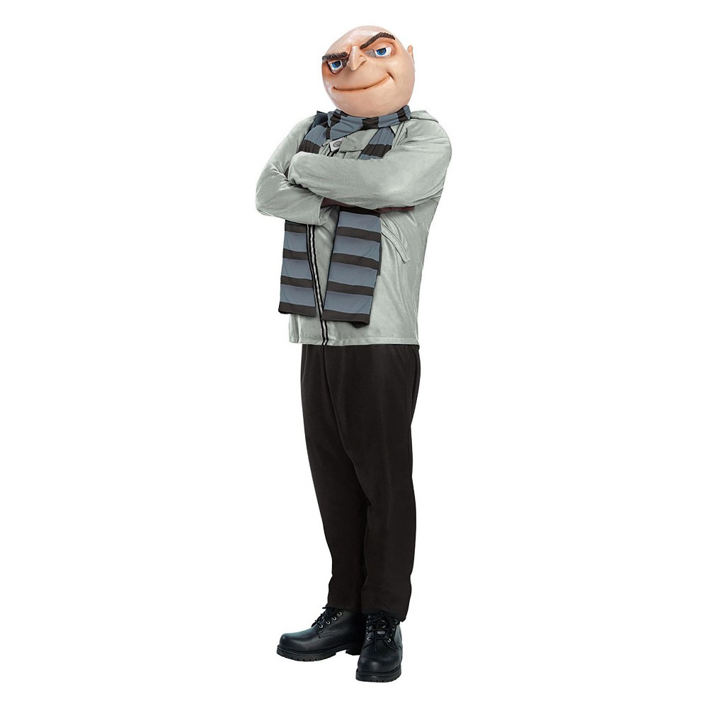 Image of Halloween Adult Plus Despicable Me Gru Halloween Costume, Men's, Size: Small, MultiColored
