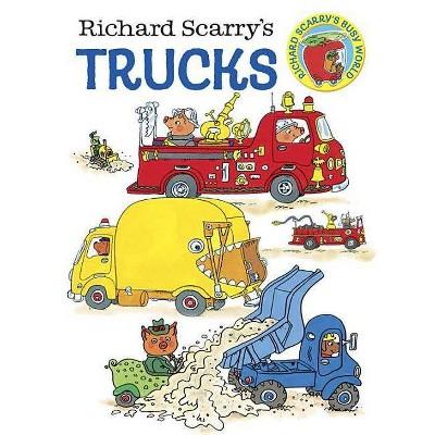 Richard Scarry's Trucks - by Richard Scarry (Board Book)
