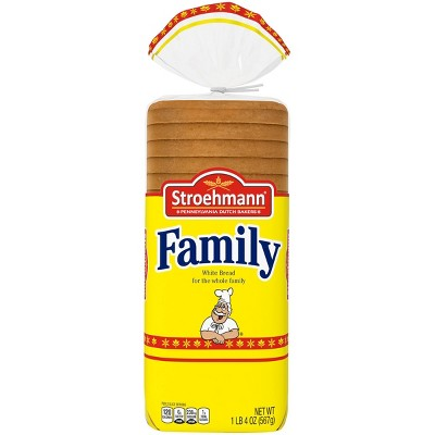 Stroehmann Family White Sandwich Bread - 20oz
