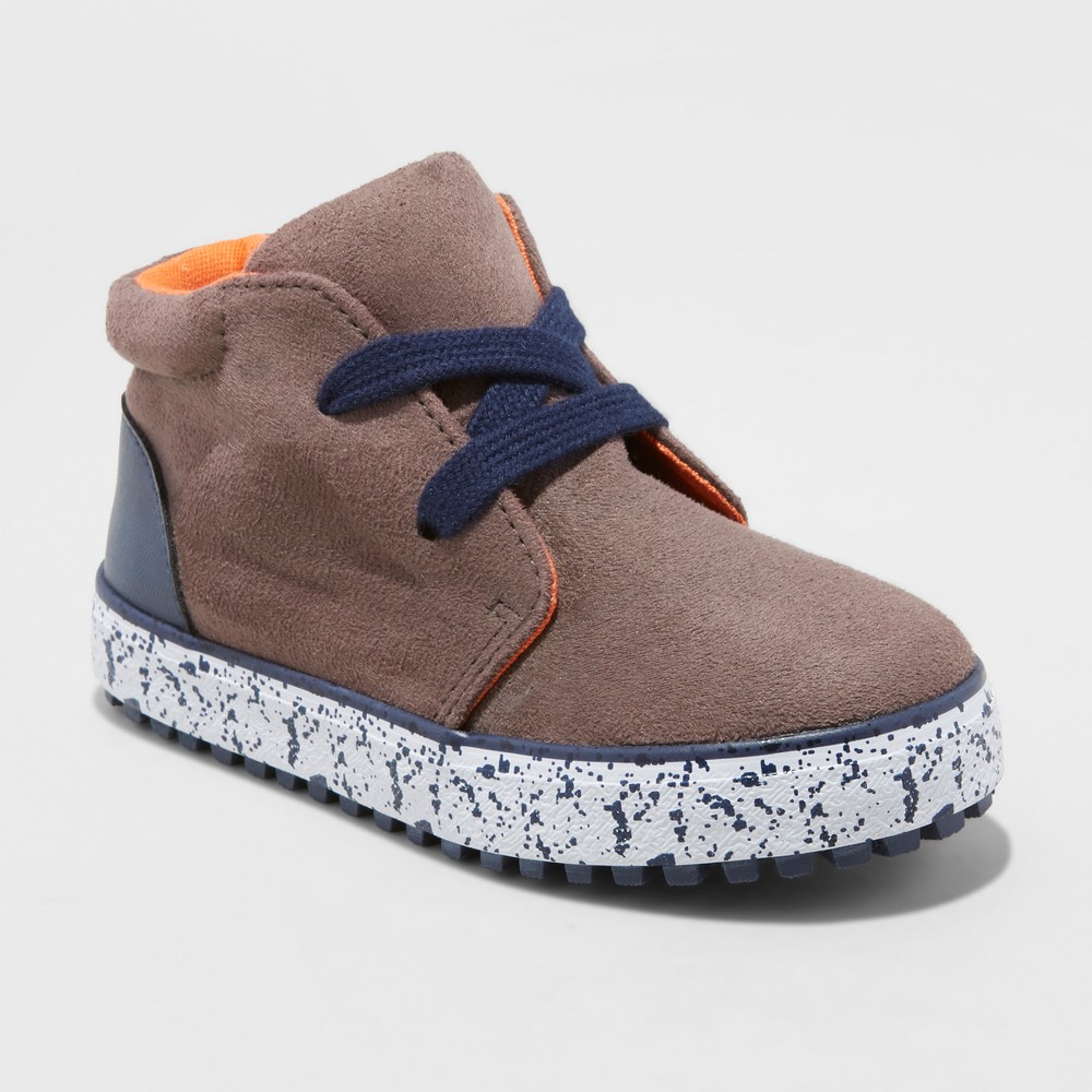 Toddler Boys' Austin Casual Fashion Boots - Cat & Jack Brown 5