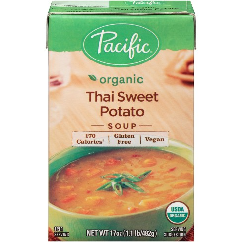 Pacific Foods Organic Thai Sweet Potato Soup - 17oz - image 1 of 6