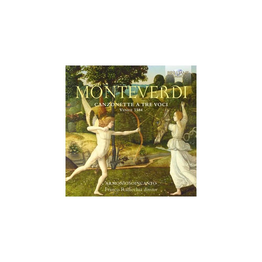 Armoniosoincanto - Monteverdi:Canzonette A Tre Voci (CD)