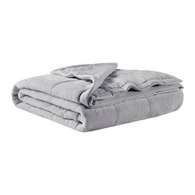 Campbell Reversible Down Alternative Bed Blanket