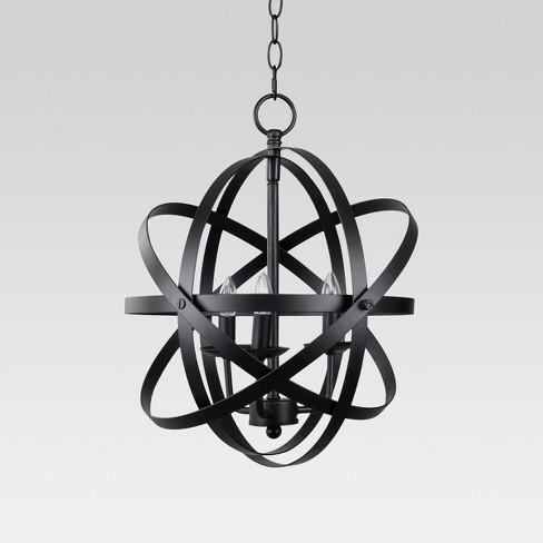 Ceiling Lights Black - Threshold™ - image 1 of 2