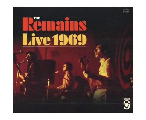 Remains - Live 1969 (CD) - image 1 of 1