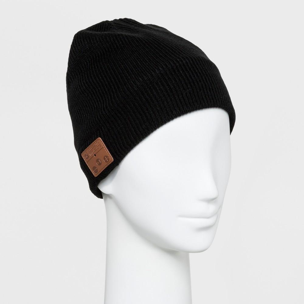 Image of Accessory Innovation Bluetooth Fleece Line Beanie - Black