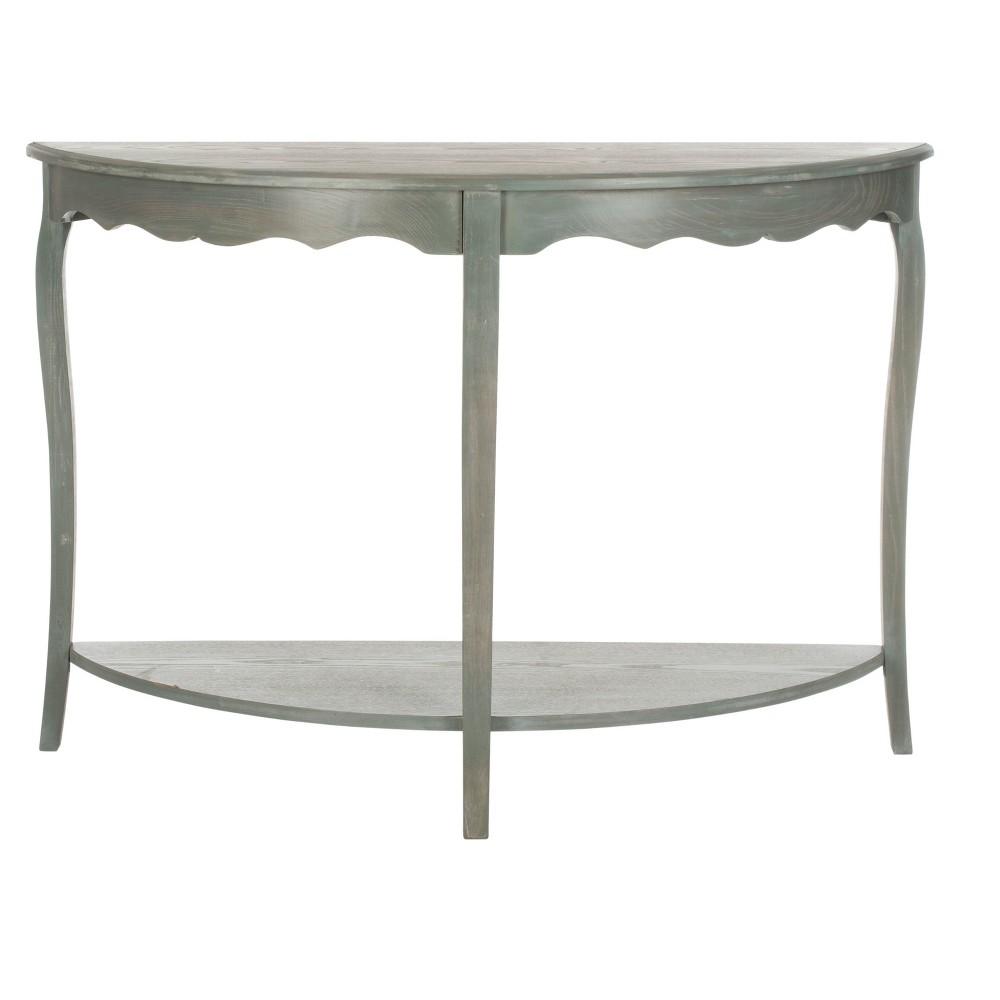 Christina Console Table - Gray - Safavieh, Vintage Gray