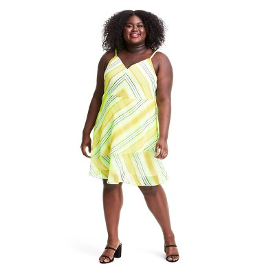 Striped Sleeveless Slip Dress - Christopher John Rogers for Target Yellow/Green