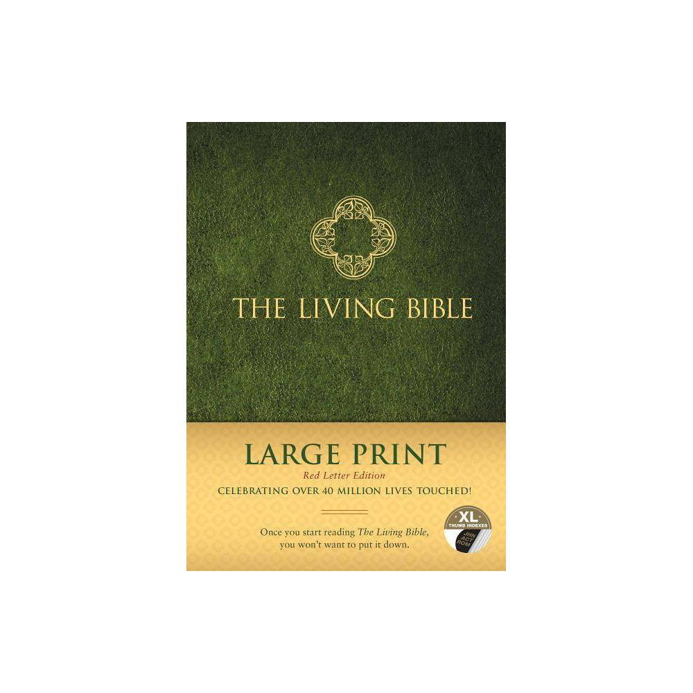 The Living Bible Large Print Red Letter Edition Hardcover