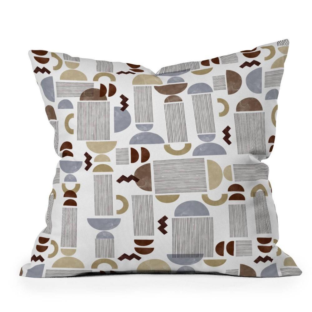 16 34 X16 34 Marta Barragan Camarasa Western Spirit Square Throw Pillow Deny Designs