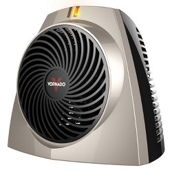 Vornado VH203 Personal Metal Space Heater Champagne