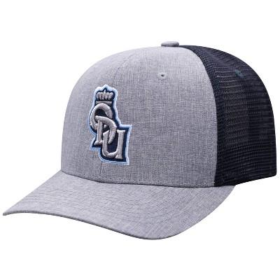 NCAA Old Dominion Monarchs Men's Gray Chambray with Hard Mesh Snapback Hat