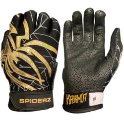 Spiderz Pro KARMA Adult 2019 Baseball/Softball Batting Gloves