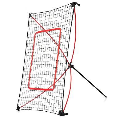 Net Playz 5' x 3' Portable Baseball Rebound Net - Black