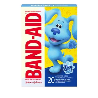 Band-Aid Blues Clues & You Adhesive Bandages - 20ct
