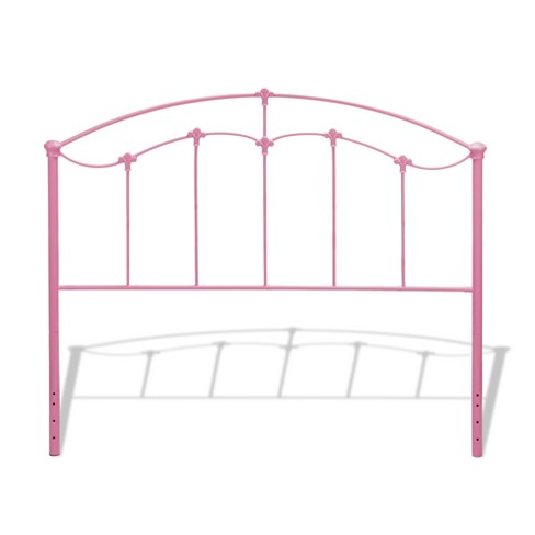 Amberley Kids Metal Headboard Panel Cotton Candy Pink Full - Fashion Bed Group - image 1 of 2