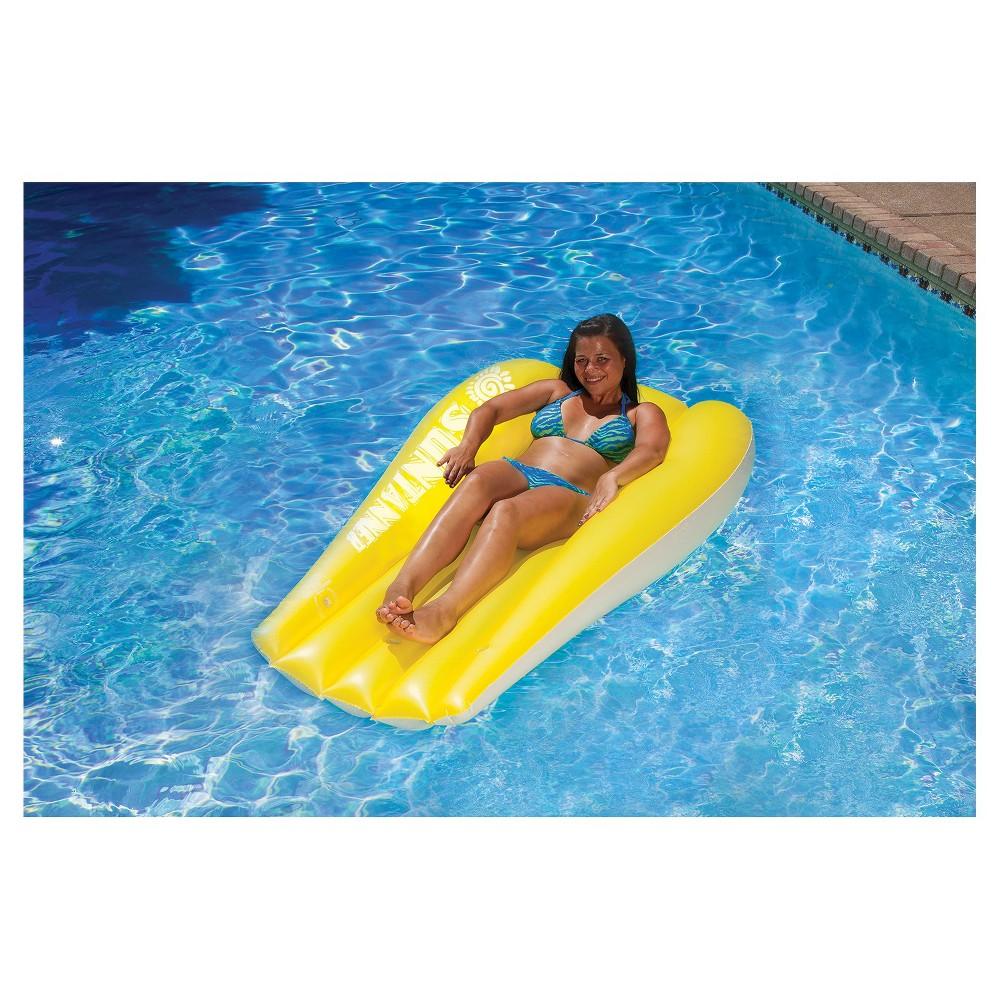 Poolmaster Suntanner Mattress - Yellow