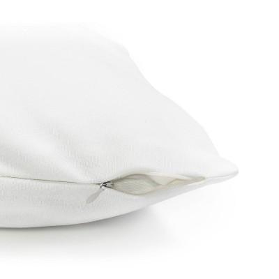 Emanuela Carratoni Serenity Palms Throw Pillow Blue - Deny Designs : Target