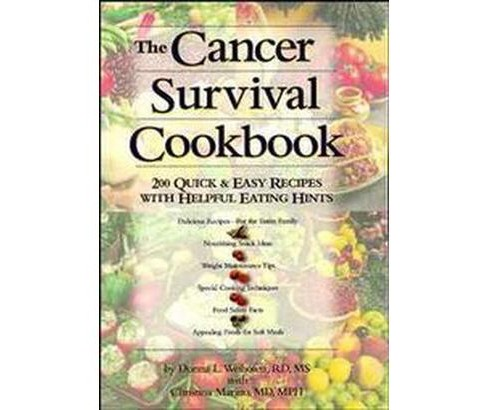 Cancer Survival Cookbook : 200 Quick and Easy Recipes With Helpful Eating Hints (Paperback) (Christina - image 1 of 1