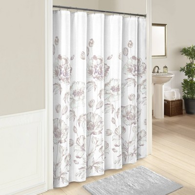 Jasmeen Shower Curtain - Marble Hill