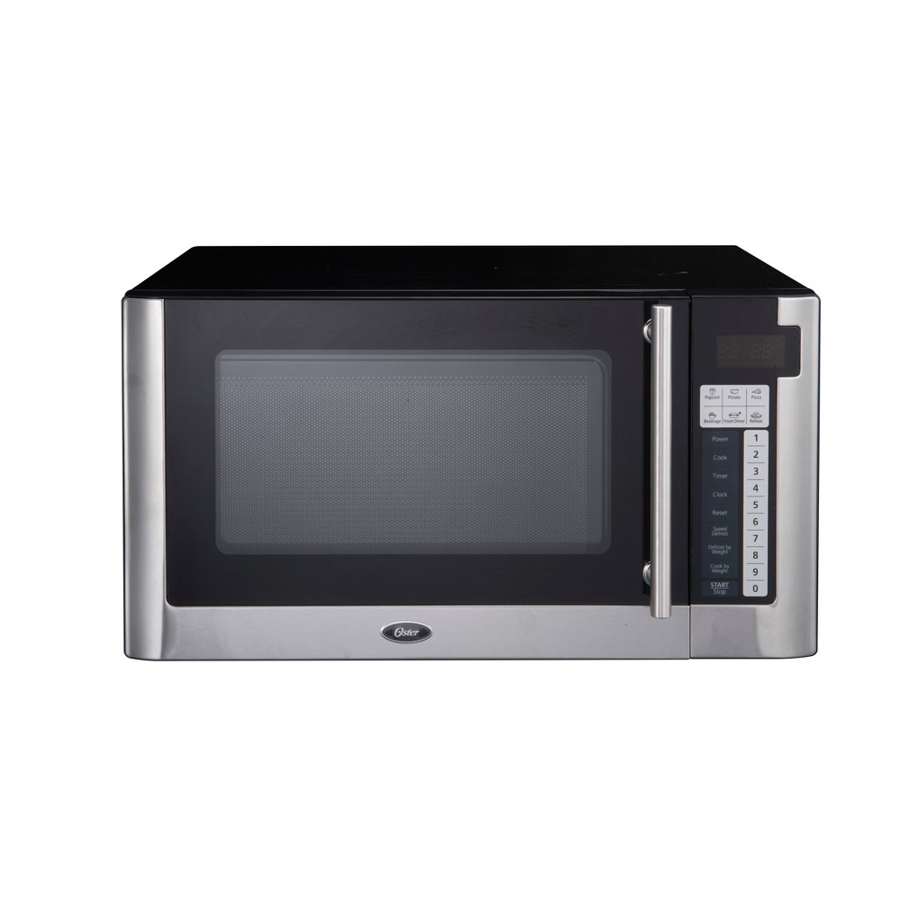 Oster 1.1 Cu. Ft. 1000 Watt Digital Microwave Oven – Black OGG61101 17279249