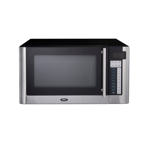 Oster 1.1 Cu. Ft. 1000 Watt Digital Microwave Oven - Black OGG61101 - image 1 of 4