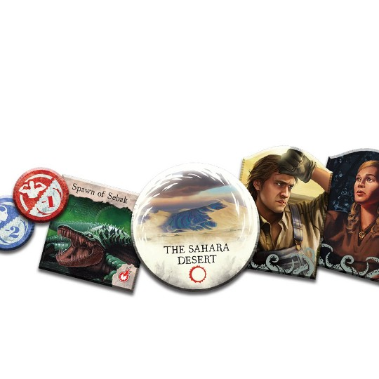 Fantasy Flight Games Eldritch Horror: Under the Pyramids Expansion image number null