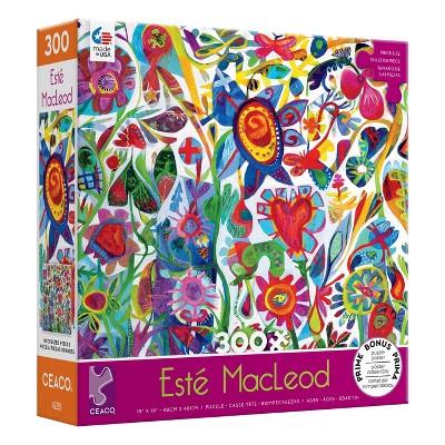 Ceaco Este Macleod: Flower Heart Jigsaw Puzzle - 300pc