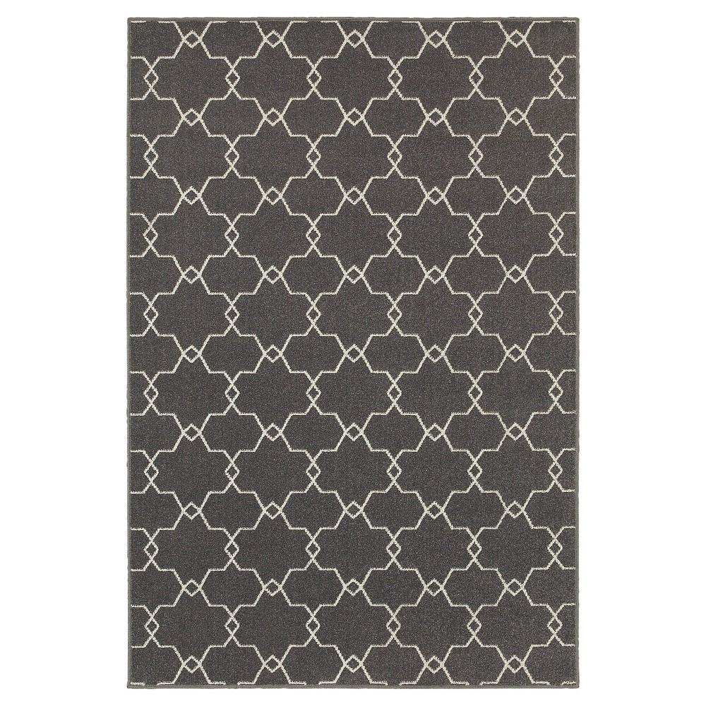 Newport Slate Area Rug - Gray (8'X11')