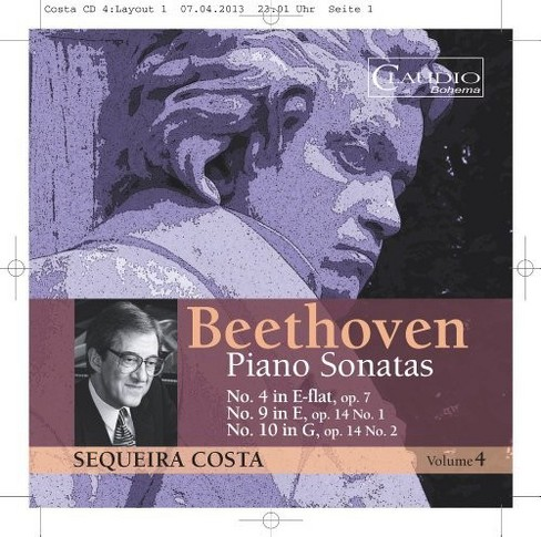 Sequeira costa - Beethoven piano sonatas vol 4 (CD) - image 1 of 1