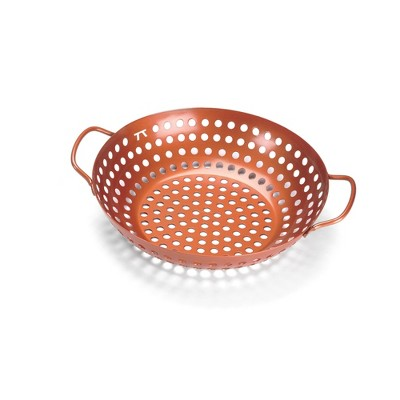Grill Wok with Handles - Copper Non Stick - Outset