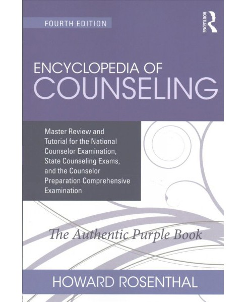 Encyclopedia of Counseling : Master Review and Tutorial for the National Counselor Examination, State - image 1 of 1
