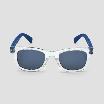 Baby Boys' Square Sunglasses - Cat & Jack™ Clear One Size