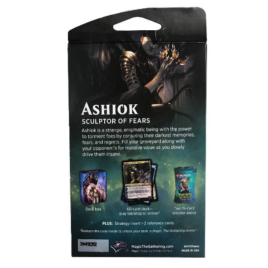 2020 Magic: The Gathering Theros Beyond Death Planeswalker Ashiok Deck image number null